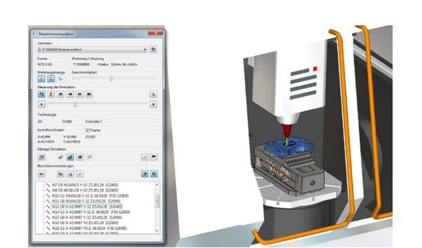 CAM simulace s pomocí hyperMILL® VIRTUAL Machining
