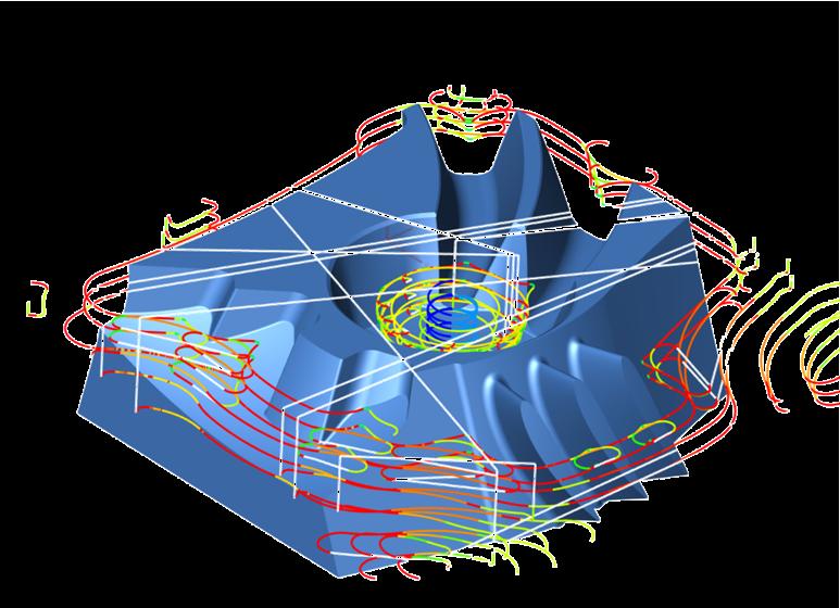 Analýza dráhy nástroje
